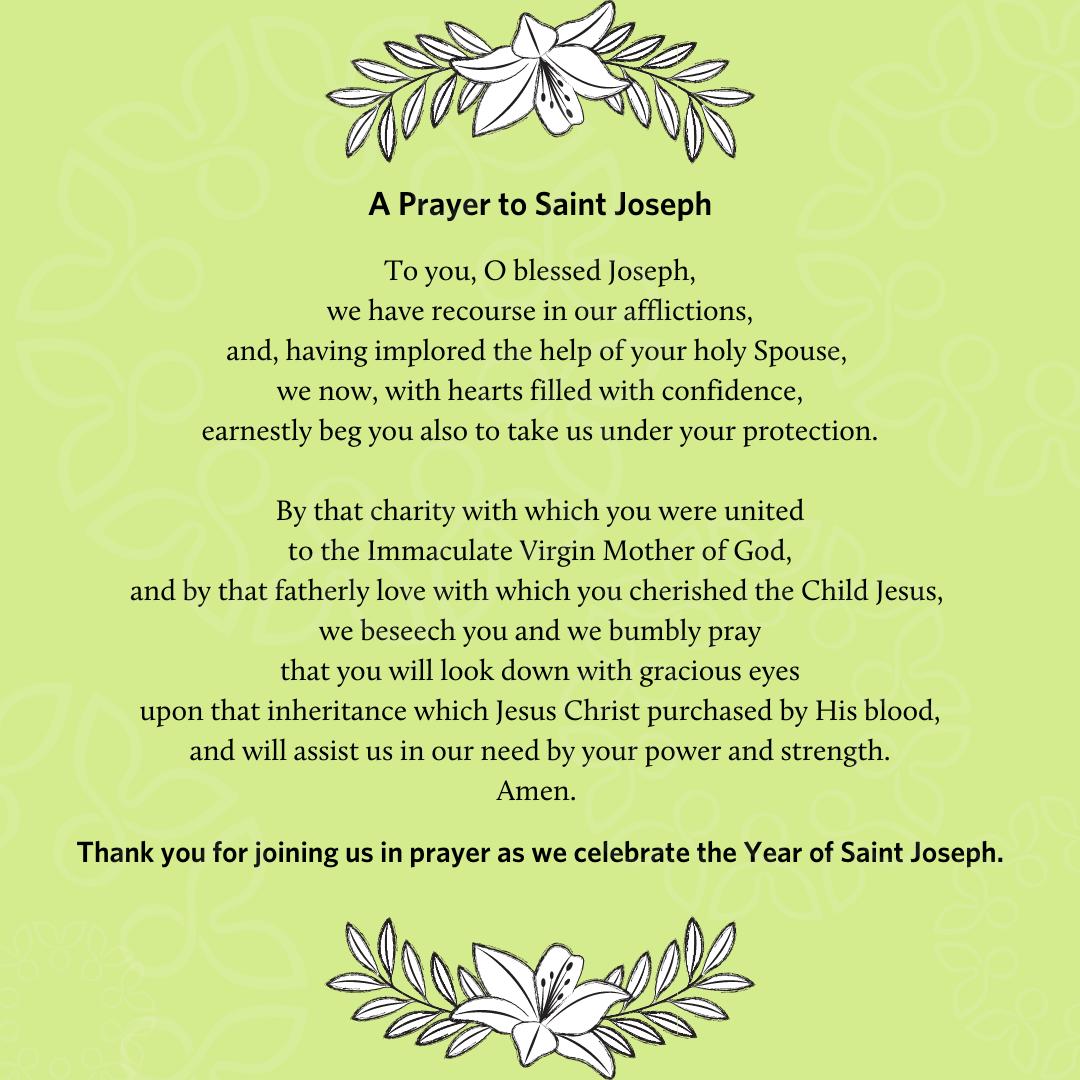 87. Prayer to St. Joseph Part 1-1