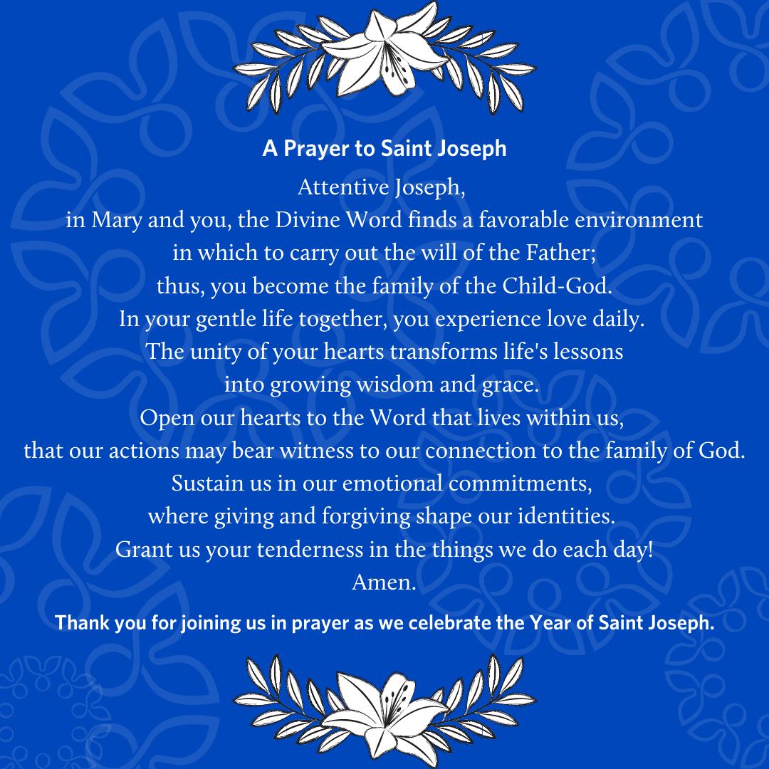 91. Joseph, Mainstay of Families