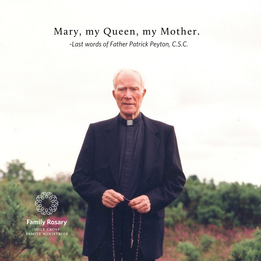 NO 6.3 Fr. Peyton Anniversary2